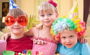 Birthday living room